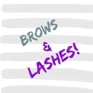 Brows & Lashes!